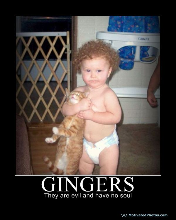 Why redheads suck think, that