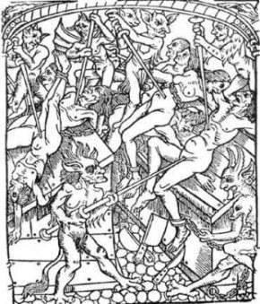 medieval-woodcut-depicting-demons